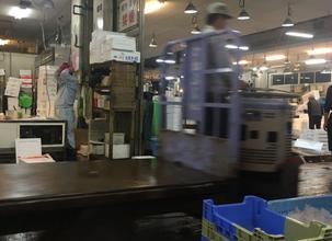 長浜市場。