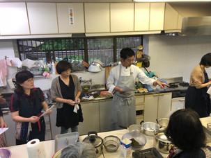 精進料理教室。