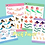 Thumbnail: Mermaid Stickers Multi-Set - PICK TWO