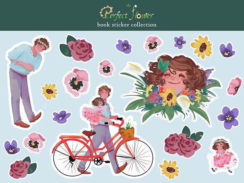 Perfect Flower Book Sticker Set