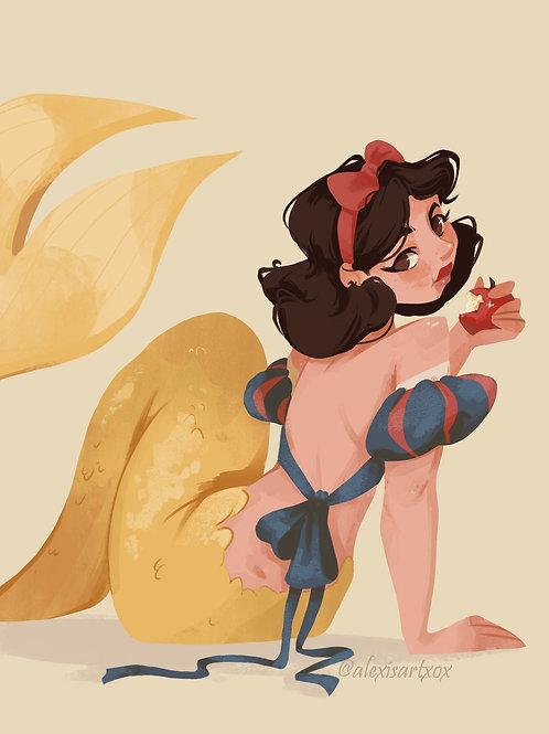Snow White Poison MerMay 2021 Print