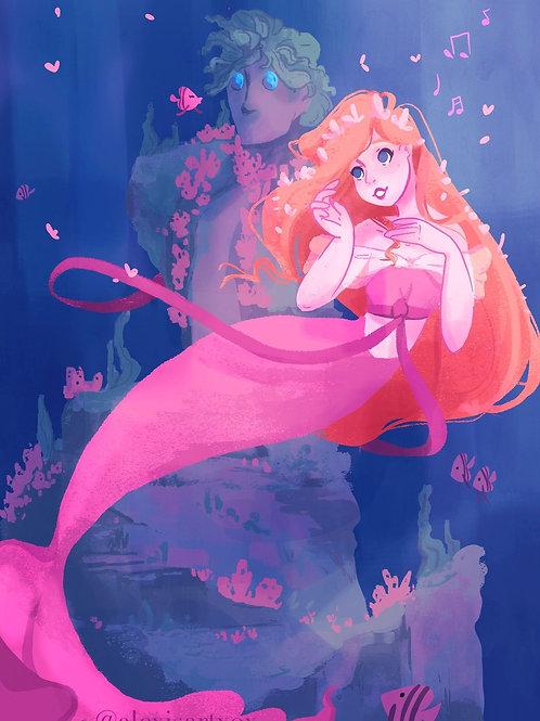 Giselle Love Song MerMay 2021 Print