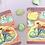 Thumbnail: Sandy the Mermaid Bike Ride at Sunset Sticker Set
