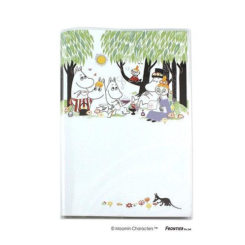 ムーミン手帳 A5マンスリーピクニック