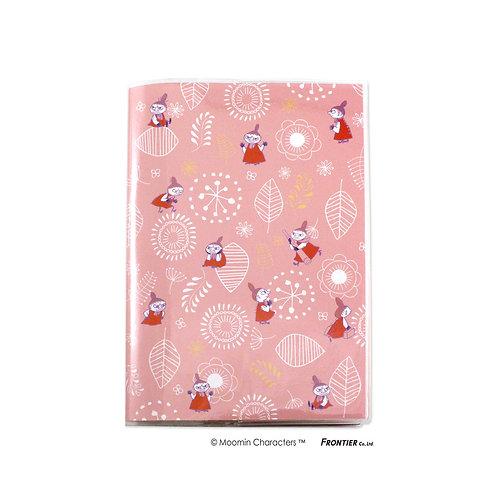 ムーミン手帳 B6マンスリー チラシ/ピンク