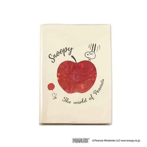 スヌーピー手帳 B6マンスリー りんご