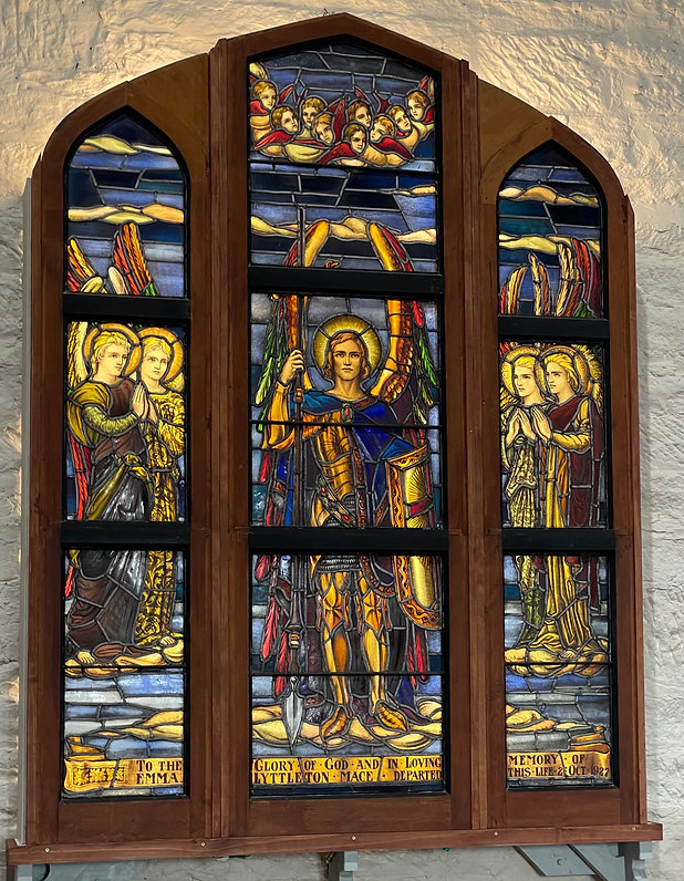 Stained Glass Windows at Swansea