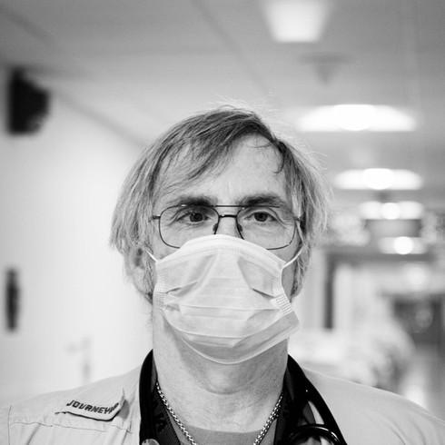Jim Galanos Respiratory Therapist UMass Memorial Hospital  Photographer: H. Del Rosario
