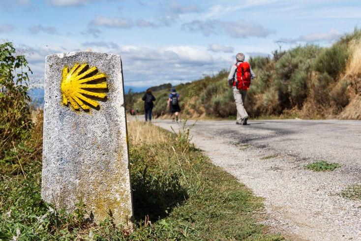 camino de santiago nordic walking maniaks