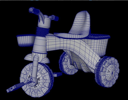 Tricycle. Wireframe 1. 2018.