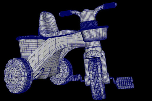 Tricycle. Wireframe 2. 2018.