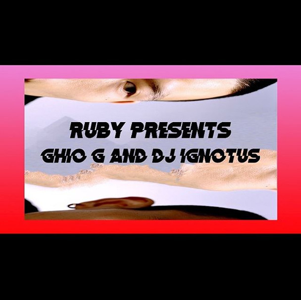 Tomorrow night _ruby.hk with my bro _ghi