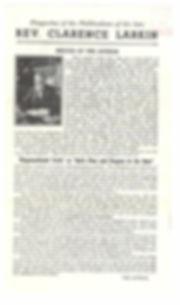 Rev. Clarence Larkin Bio