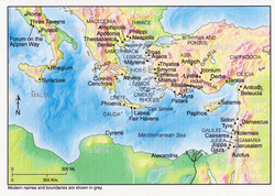 FSBible map covering the book of Acts