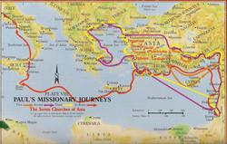 Paul's 4 Missionary Journeys.01