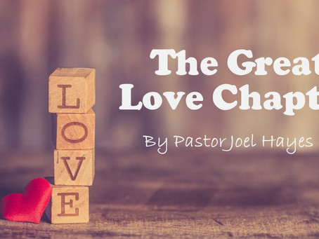 The Great Love Chapter
