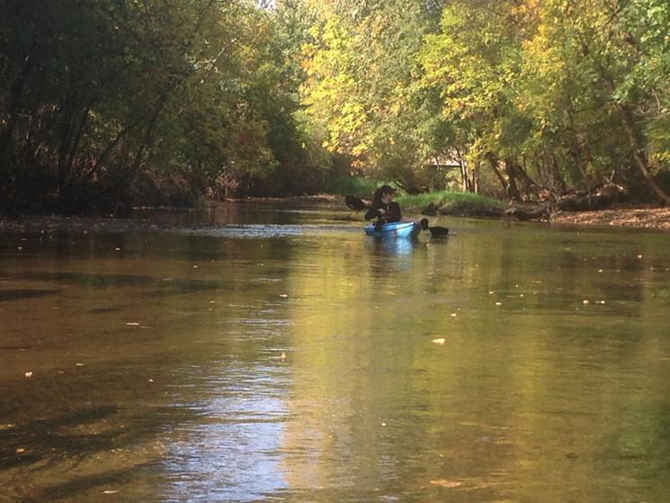 Fall paddle