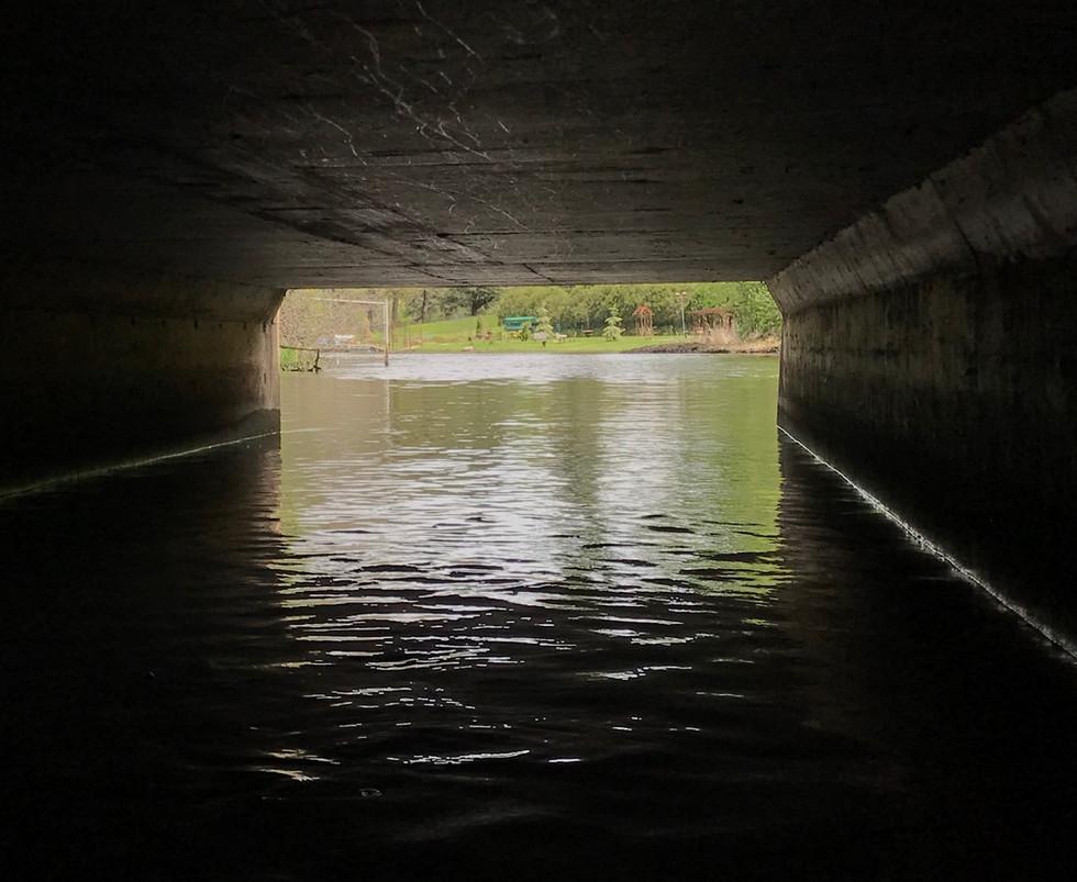 Highway 169 tunnel