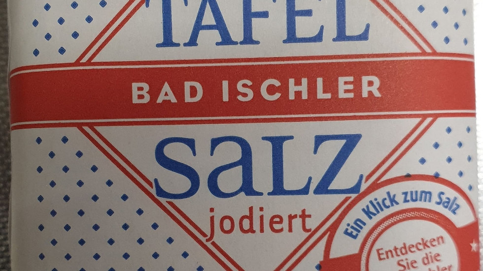 BAD ISCHLER Salz 500g