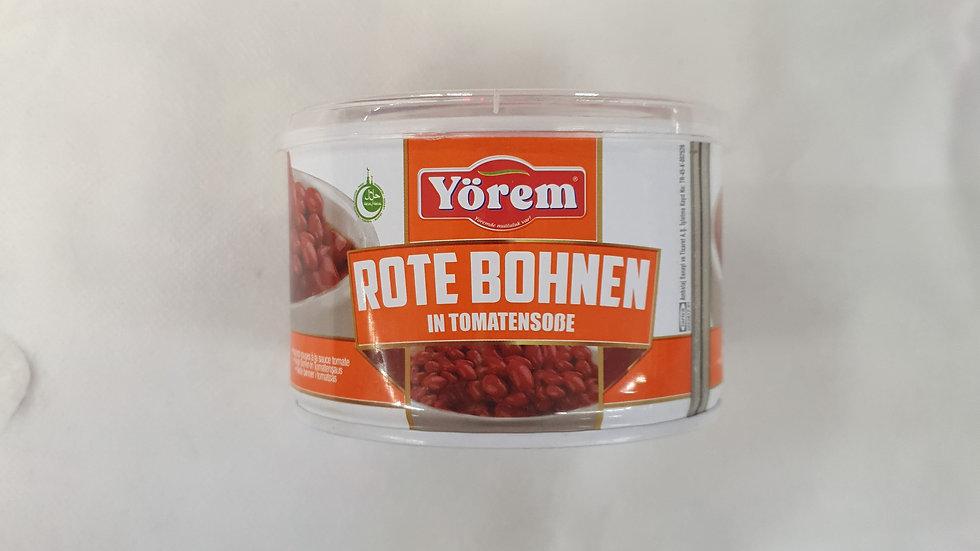 YÖREM Rote Bohnen in Sauce 400g