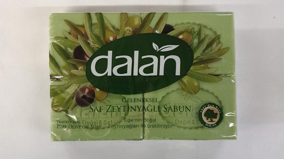 DALAN Seife mit Olivenöl 4×150g