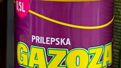 GAZOZA 0.5L