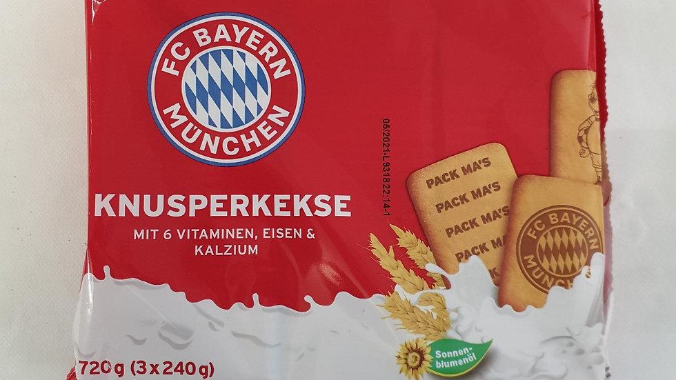 FC BAYERN Knusperkekse 720g