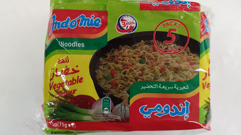 INDOMIE Vegetarisch 5×75g