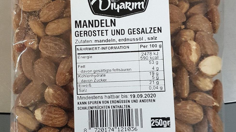 DIYARIM Mandeln geröstet gesalzen 250g