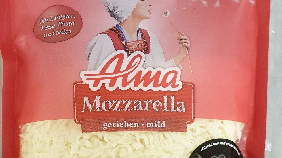 ALMA Mozzarella gerieben 200g