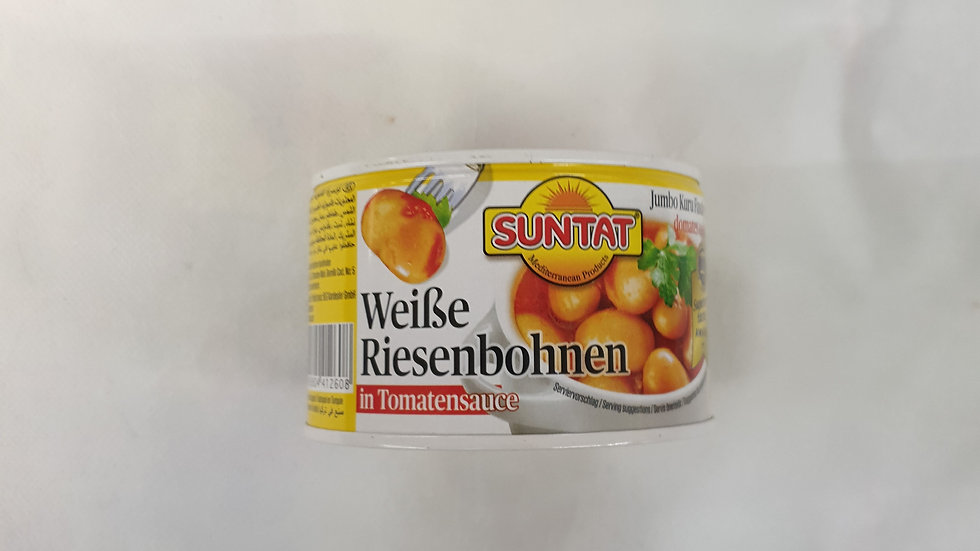 SUNTAT Weisse Risenbohnen in Sauce 400g