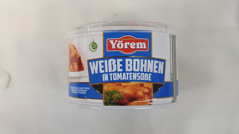 YÖREM Weiße Bohnen in Sauce 400g