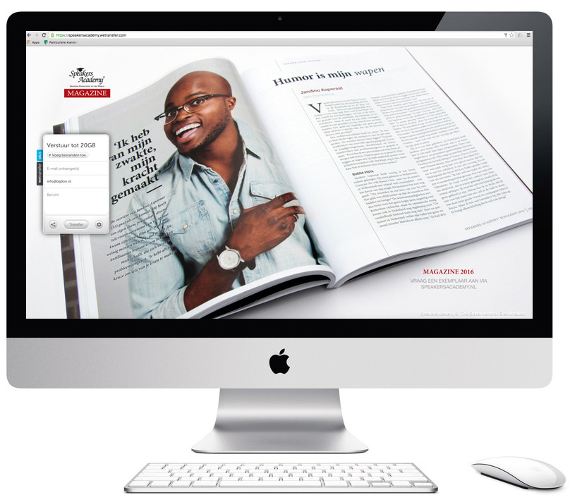 Speakers ACADEMY Magazine - Bij Don reclame en vormgeving