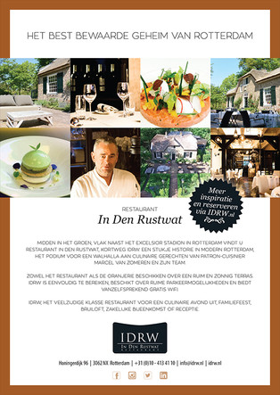 Flyer toprestaurant IDRW