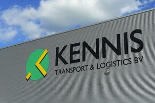 Signing Kennis Transport Hazeldonk