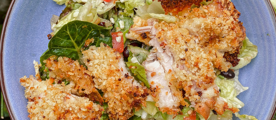 Crispy Chicken Taco Salad