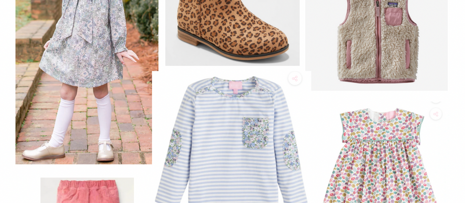 Kids Mini Fall/Winter Style Edit