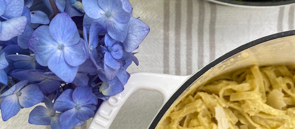 Artichoke Pesto Pasta & Roasted Broccolini with Kana Good's Milo 3-Piece Set