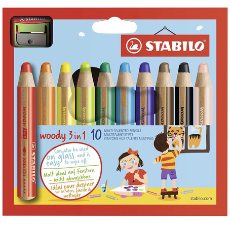 This Week's Creative Play: The Stabilo Pencils
