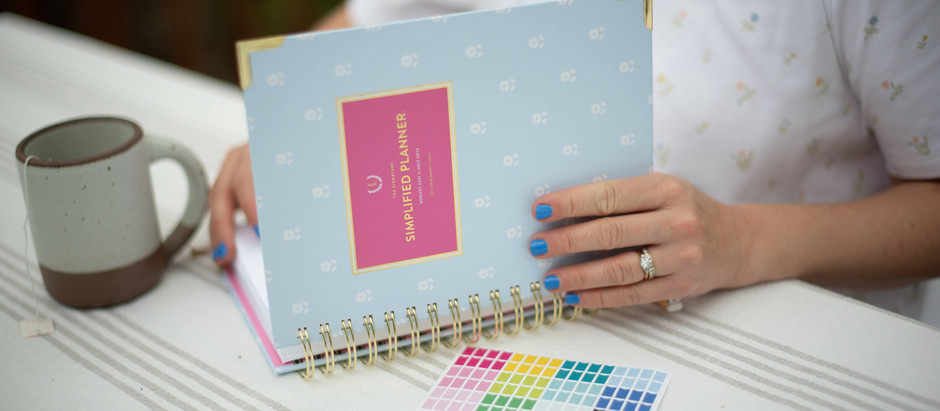 My Love for the Simplified Planner