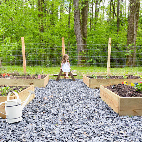 Garden Bed & Fence How-To