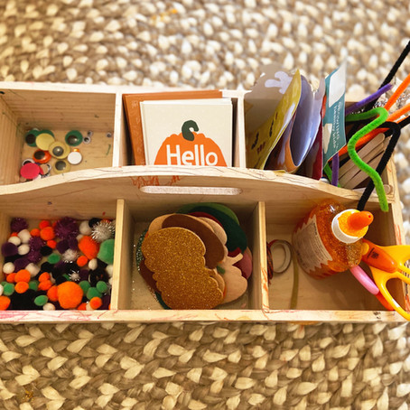 Tinker Boxes: An Art Box for Independent Play