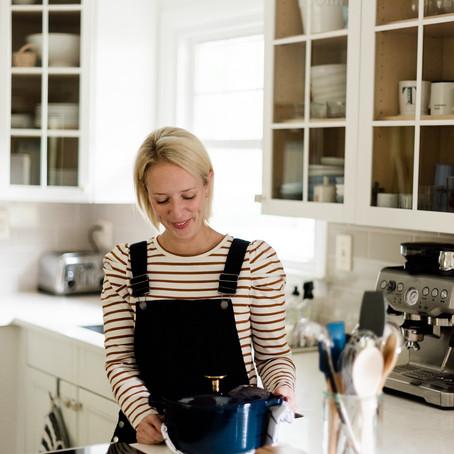 Lemon & Thyme Meatballs with Kana Good's Mini Dutch Oven