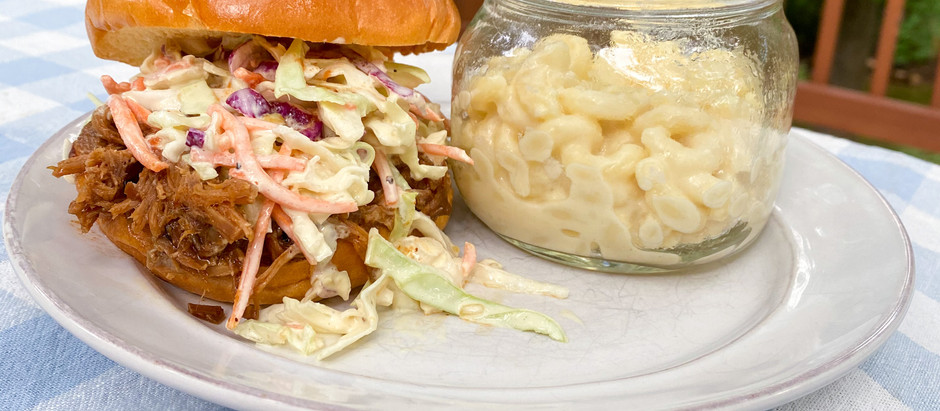 Pulled Pork Sandwiches with Carolina Sauce: An Adams Family Recipe