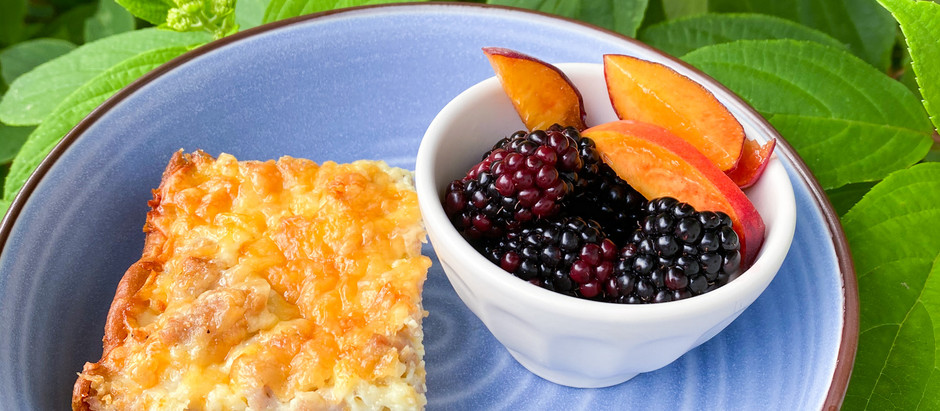 Easy Breakfast Casserole: A Father's Day Treat