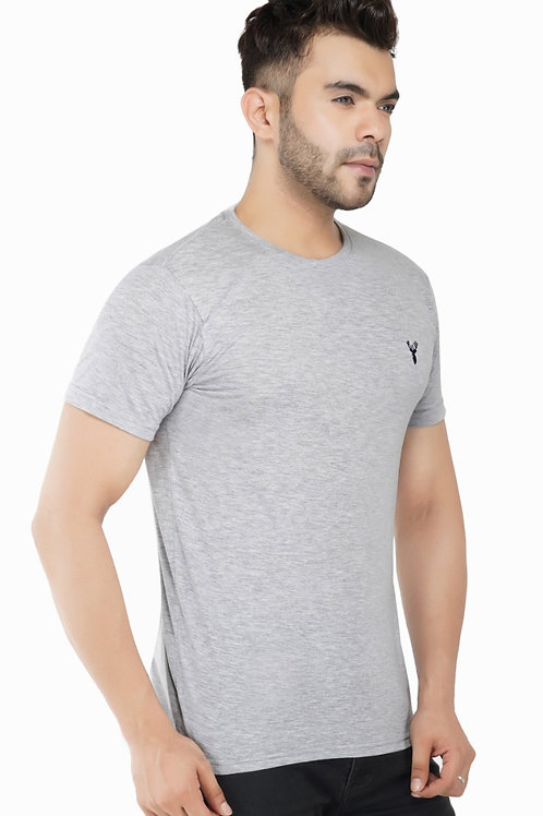 Pro Riders Ecru Round Neck T-Shirt