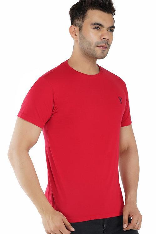 Pro Riders Red Round Neck T-Shirt