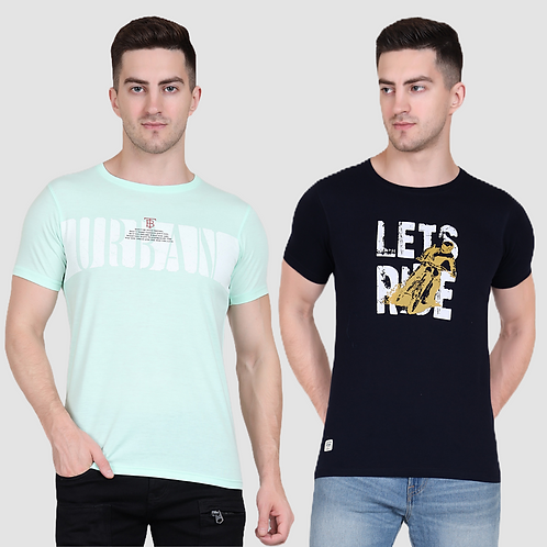 Graphic Tee (Pack of 2 - SG NY)