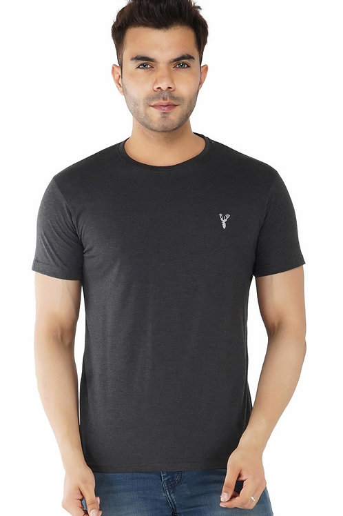 Pro Riders Anthra Round Neck T-Shirt
