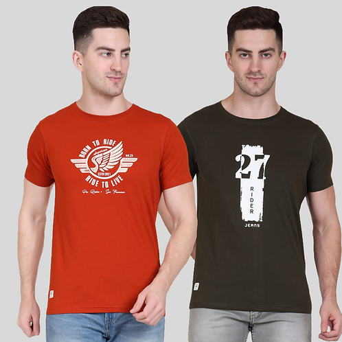 Graphic Tee (Pack of 2 - RT OL)